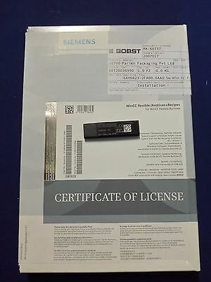 SIEMENS SIMATIC WINCC flexible / Archives + Recipes 6AV6618-7GD01