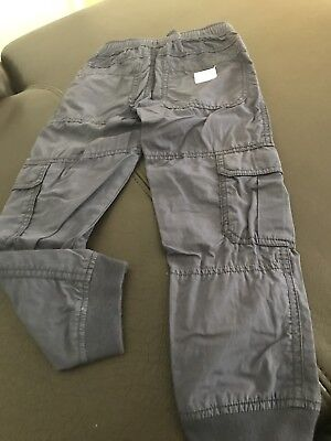 Country Road Boys Cargo Pants Navy Size 5