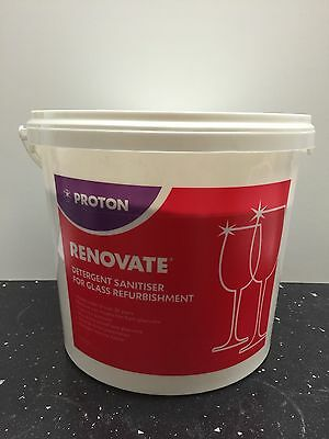 5kg Proton Renovate Glass Renovation Powder Commercial Industrial Catering.