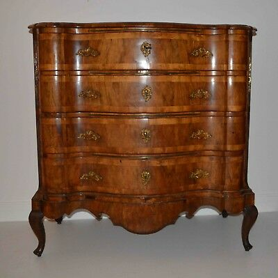 Baroque Walnut Chest of Drawers