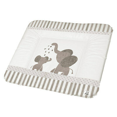 Rotho Babydesign Folien Wickelauflage Wickelunterlage - Modern Elephants 72 x 85
