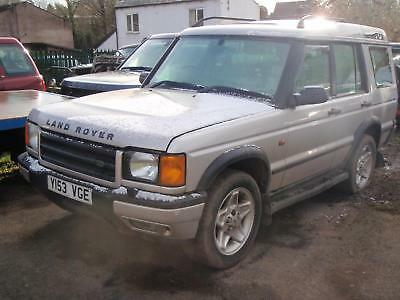 Land Rover Discovery 2.5Td5  auto 2001MY Td5 ES (5 seat) Spares or repair