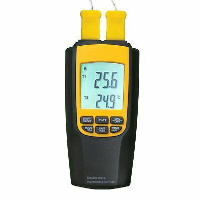 Digital K J Type Thermocouple Thermometer