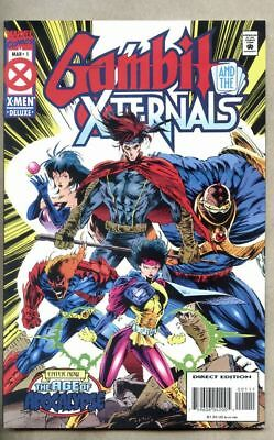 Gambit And The Xternals #1-1995 nm- 9.2 X-Men /   Age Of Apocalypse Marvel