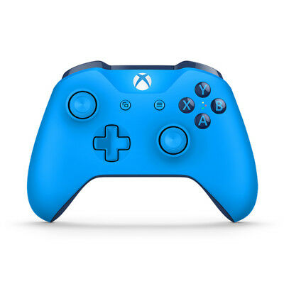 Xbox One Blue Wireless Controller NEW