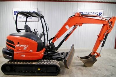 2016 Kubota Kx040-4R1A Track Excavator, 2-Speed, Warranty And Only 743 Hours!