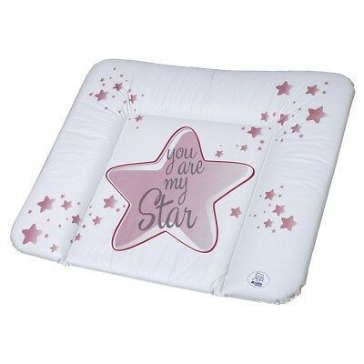Rotho Babydesign Folien-Wickelauflage Unterlage You are my Star - Swedish Rose
