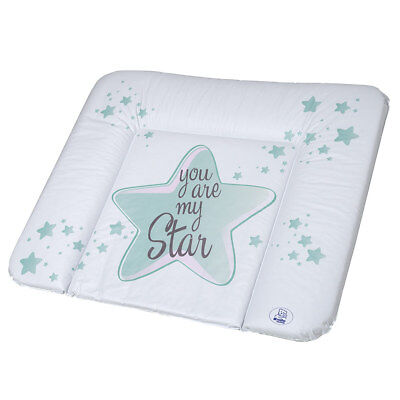 Rotho Babydesign Folien-Wickelauflage Unterlage You are my Star - Swedish Green