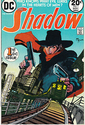 SHADOW, THE 1 - 1st APP SHADOW (BRONZE AGE 1973) - 9.0