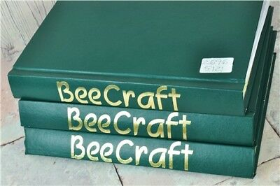 Bee Craft Journals Bundle In x3 Albums British Beekeepers' Association 2007-2009