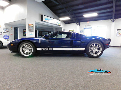 2005 Ford Ford GT Base Coupe 2-Door 2005 Ford GT, Beatiful MIDNGHT BLUE!