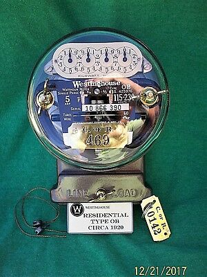 Westinghouse OB Meter, Pristine Condition, 5 amp, 115/230 volts