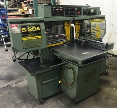 HYD-MECH, BAND SAW, MODEL S-20A, 480 VOLT, 60Hz