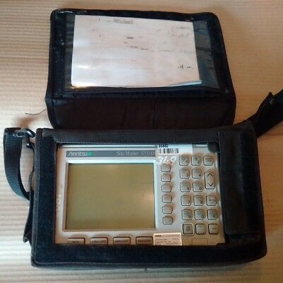 Anritsu S331D Site Master Cable & Antenna Analyzer + Option 29