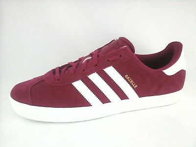 Details about Adidas Gazelle 2 Girls Big Kids BY9544 Icey Pink Suede Athletic Shoes Size 6