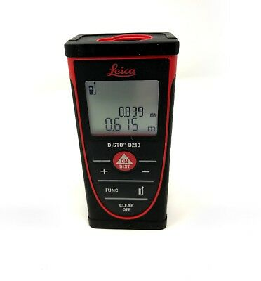 Leica DISTO D210 80m - Indoor Laser Distance Meter / Laser Measure