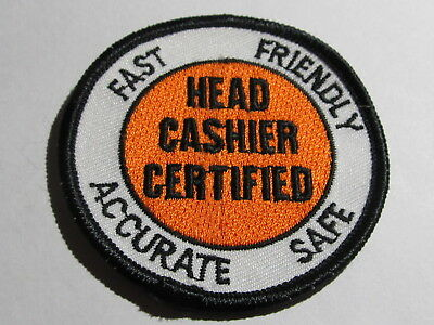 home depot collectibles head cashier certified patch