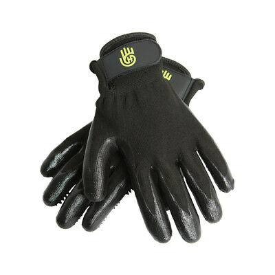 HandsOn Grooming Gloves - Pair - Black - Small, Medium, Large & X-Large
