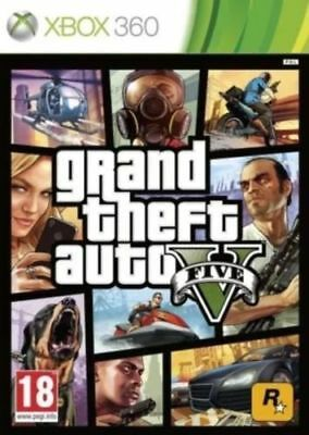 GRAND THEFT AUTO 5 - GTA 5 XBOX 360 - MINT - Super FAST Delivery Absolutely FREE