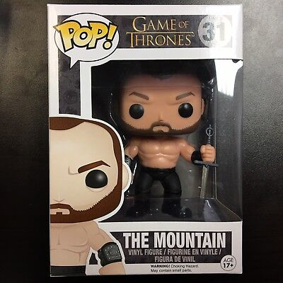 Funko POP Game of Thrones The Mountain #31 Vaulted Mint Box
