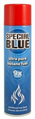 Special Blue Lighter Gas Refill Butane Fuel 9X Refined 300ml Free Shipping