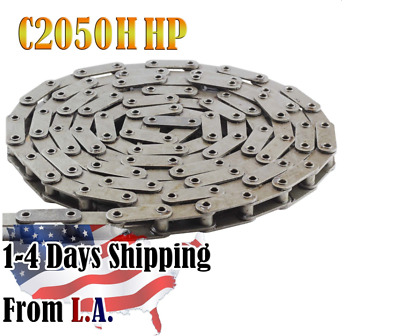 C2050HHP Hollow Pin Conveyor Roller Chain 10 Feet with 1 Connecting Link