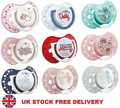 ❤ 2x Dummy Soother Pacifier Orthodontic Dynamic BPA FREE Baby LOVI AWARD WINNING