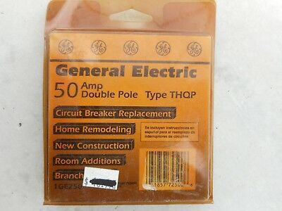 GENERAL ELECTRIC 50AMP Double Pole TYPE THQP #1GE250