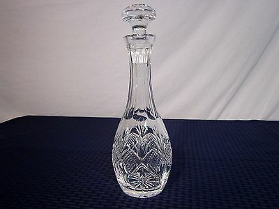 Waterford Crystal Cordial/Wine Decanter w/Stopper. Giftware. NICE.