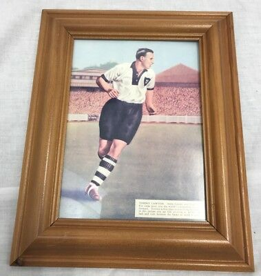Notts County Tommy Lawton Photo 1948/49 Framed