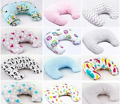 Deluxe Breast Feeding Matern​ity Pregnancy Nursing Pillow + Cover Baby Support