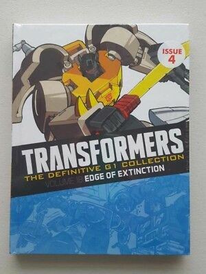 Transformers The Definitive G1 Collection Volume 18 Edge Of Extinction Marvel