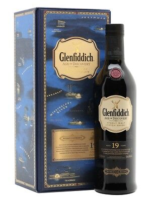 Glenfiddich 19yo Age Of Discovery Bourbon Cask Scotch Whisky 700mL