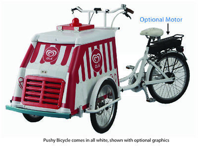 Fricon FMBC Pushy BICYCLE Cold Plate Ice Cream Freezer FREE SHIPPING