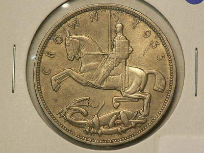 Great Britain 1935  Silver Crown King George V  KM#842 #G9176