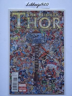 The Mighty Thor #22 Collage Variant