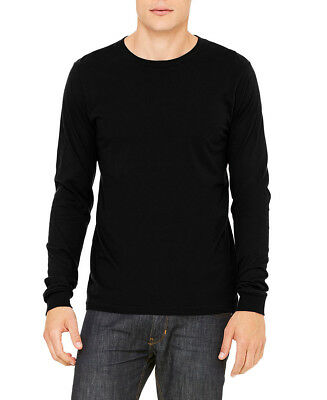 Bella + Canvas Mens Long Sleeve Jersey Tee