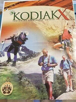 Rare Discontinued Boy Scouts of America Venturing Kodiak X Course Guide 93 Pages