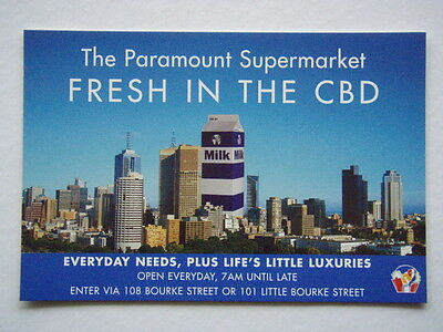 The Paramount Supermarket Fresh In Cbd Everyday Needs Avant Card #1595 Postcard