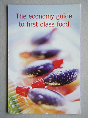 The Age Cheap Eats 2001 The Economy Guide Avant Card #5599 Postcard