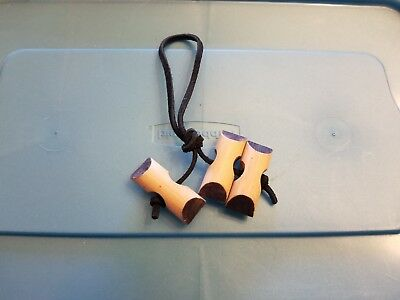 Boy Scouts of America Woodbadge 3 Bead Pocket Dangle