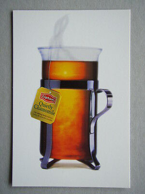 Lipton Quietly Chamomile Advert Avant Card #1773 Postcard