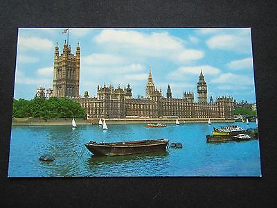 Houses Of Parliament London Postcard
