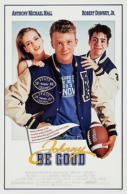 Johnny Be Good (1988) Original Movie Poster  -  Rolled