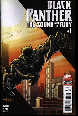 Black Panther The Sound and The Fury #1 First Print Marvel Comics Movie Soon NM+
