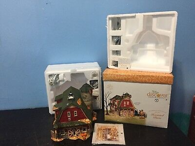 RETIRED DEPARTMENT 56 Halloween - HAUNTED BARN MINT Complete Works DEPT 56