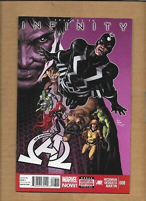 New  Avengers #8 1St Appearance Thanos' Black Order Marvel Prelude To Infinity