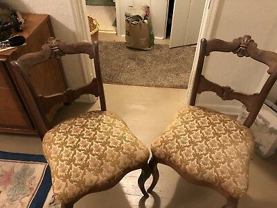 Antique Boudoir Chairs