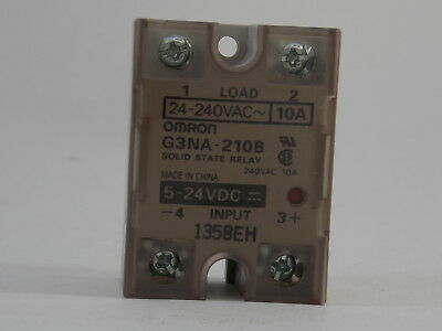Omron Solid State Relay G3Na-210B Dc 5-24V   New