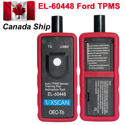 Canada Ship VXSCAN EL-60448 TPMS Reset Tool Relearn Tool fit for Ford